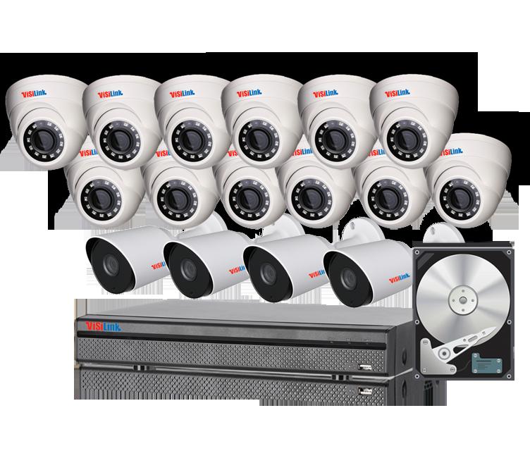 Paket CCTV 16 Kamera 4MP