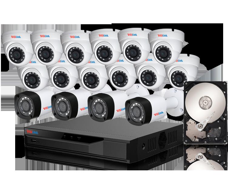 Paket CCTV 16 Kamera 2MP